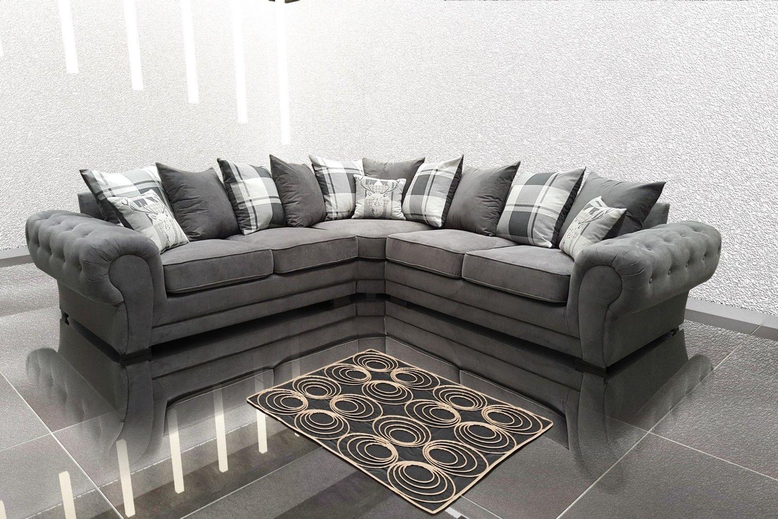 Corner Sofa Suite Venon Fabric
